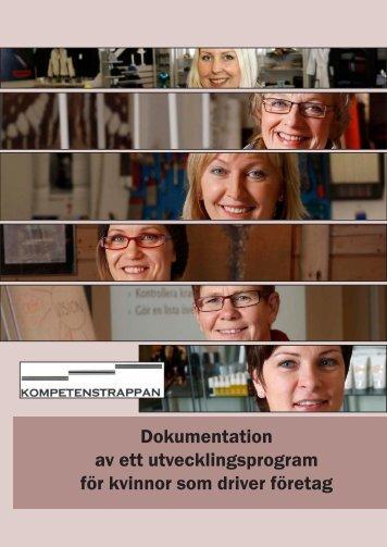 Dokumentation av ett utvecklingsprogram för kvinnor som driver ...