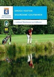 droge voeten duurzame golfbanen - NGF