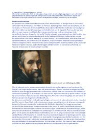 Renaissancekunstenaar De loopbaan van schilders zoals ... - Lambo