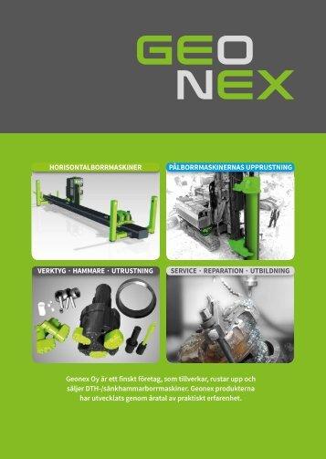 VERKTYG HAMMARE UTRUSTNING SERVICE ... - Geonex