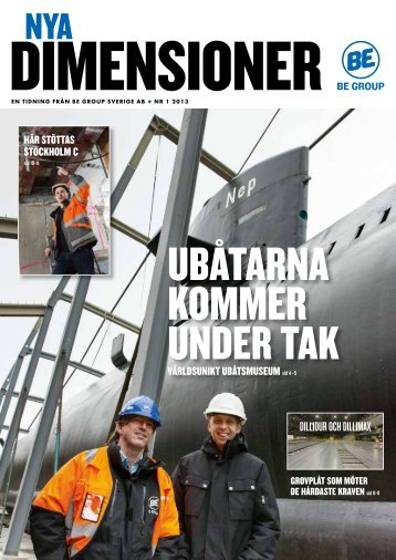 Nya Dimensioner nr 1 2012 (pdf) - BE Group