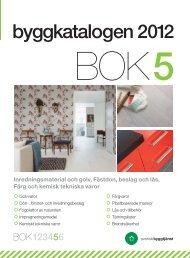 November 2012 - Byggkatalogen - Svensk Byggtjänst