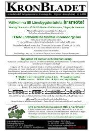Nr: 6 Läs här - Hela Sverige ska leva