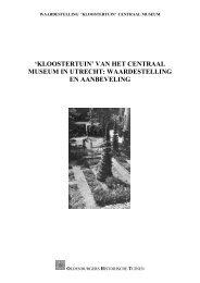 Kloostertuin - Centraal Museum Utrecht