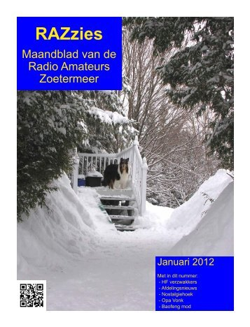 Januari - de PI4RAZ website