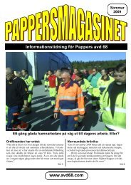 Sommarnr. 2009 - Pappers - Avd 68