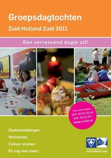 Groepsdagtochten - VVV Hoeksche Waard
