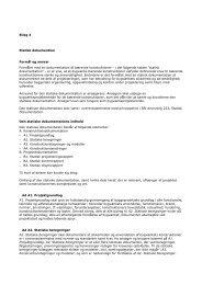 Bilag 4 Statisk dokumentation - W2L