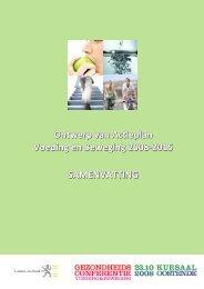 Lees de samenvatting van het actieplan - Vlaams Agentschap Zorg ...