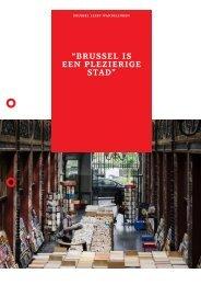 """""""Brussel is een plezierige stad"""" - Klare Lijn"""