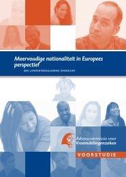 Meervoudige nationaliteit in Europees perspectief - ACVZ