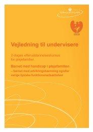 Kursusmateriale Handicap vejledning - Servicestyrelsen