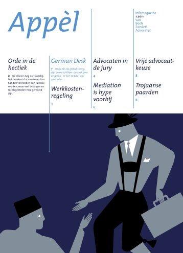 Orde in de hectiek Werkkosten - Boels Zanders Advocaten