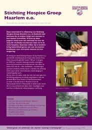 Hospice Nieuwsbrief Lustrum Editie - Stichting Hospice Groep ...