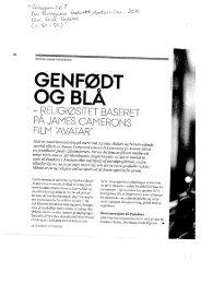 Genfødt og blå. Artikel om dyrkelsen af Avatar pdf forma