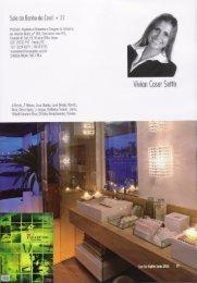 Sala de banho do casal Anuário Casa Cor Espírito ... - VCS Projetos