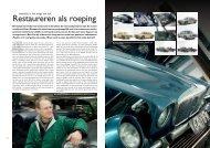 Artikel in Het Automobiel Klassiek Februari 2012 - Stenger Jaguar ...