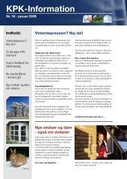 KPK-information nr. 18 - KPK Vinduer