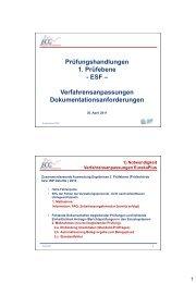 Konformitätsprüfung EFRE - ECG GmbH Berlin