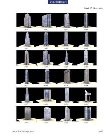 Dosch 3D Skyscrapers - Basis 1