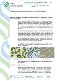 Anvisning till myndigheter 5/2011 - Valvira.fi