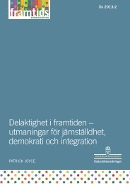 Delaktighet i framtiden - Framtidskommissionen
