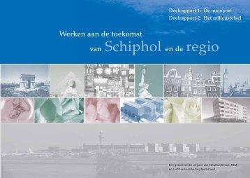 van Schiphol en de regio