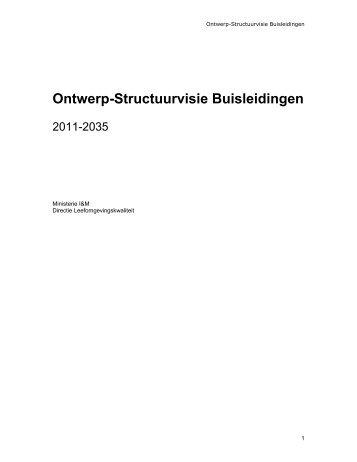 Ontwerp-Structuurvisie Buisleidingen