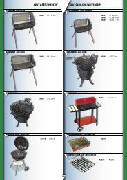 grily a příslušenství grills and grill accessories - AM.Rex - Olomouc