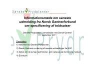 Informationsmøde om seneste udmelding fra Norsk Gartnerforbund ...