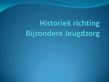 Historiek richting Bijzondere Jeugdzorg - Margareta-Maria-Instituut