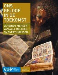 onze brochure - Faculteit der Godgeleerdheid, Vrije Universiteit ...