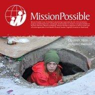 Download hier de laatste nieuwsbrief - Mission Possible