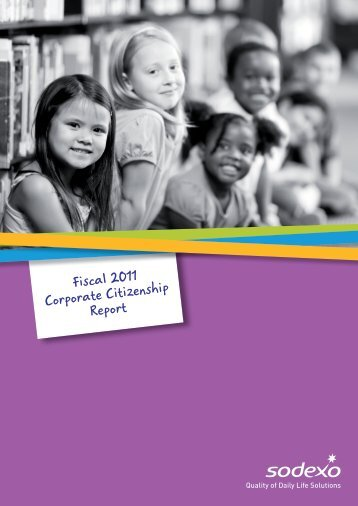 Corporate Citizenship Report 2011