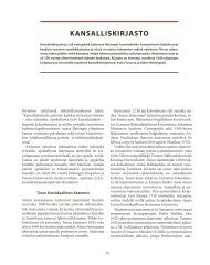 Kansalliskirjasto (pdf) - Kulttuurin laajakaista