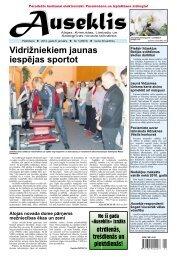 Vidrižniekiem jaunas iespējas sportot - Auseklis