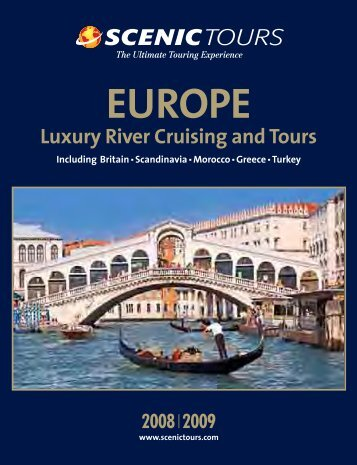 Luxury River Cruising and Tours - Scenic Tours