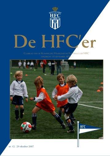 nr. 12. 29 oktober 2007 - Koninklijke HFC