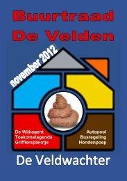 De Veldwachter 10-2012 - Wijkraad Zuidoost