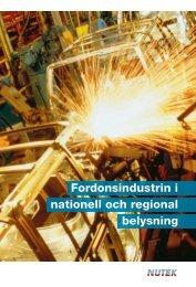 Fordonsindustrin i nationell och regional belysning - Statistiska ...