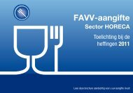Brochure Horeca(2198 kb) (.pdf) - Favv-fin.be
