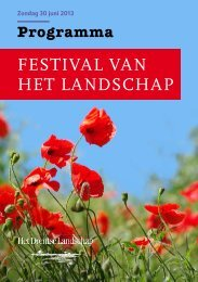 Download hier het volledige programma - Stichting Het Drentse ...