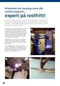Avestas produktprogram för SOLIDTRÅD - Svetsteknik - Page 4