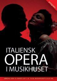 ITALIENSK I MUSIKHUSET - Marcello da Milano