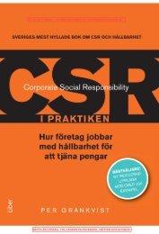 CSR i praktiken, andra upplagan - utdrag - Samt