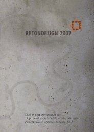Download PDF med det samlede katalog - Betondesign 2007