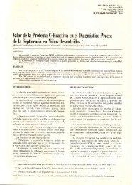 Valor de la Proteina C-Reactiva en el Diagnóstico Precoz de la ...