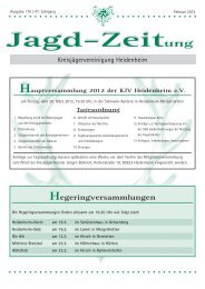 Jagd-Zeitung Jagd-Zeitung