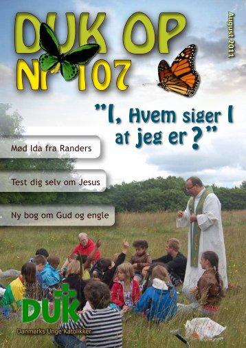 I, Hvem siger I - Danmarks Unge Katolikker