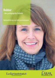 Rektor för tryck L.pdf - Lärarfortbildning